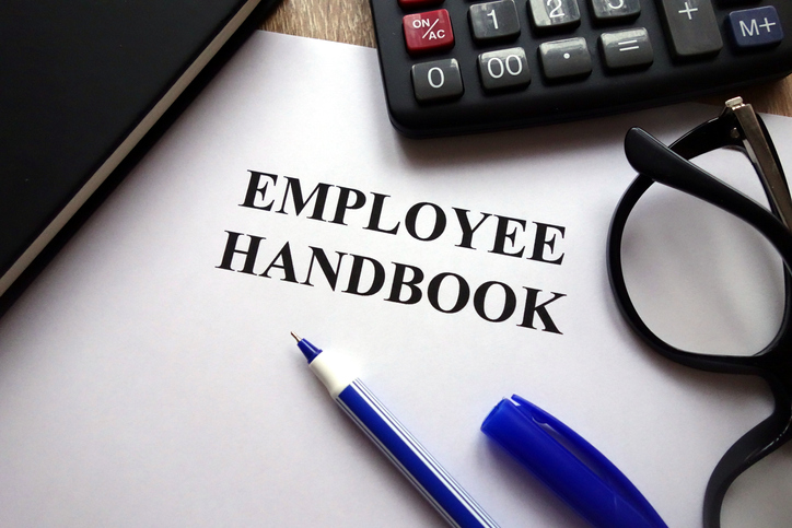 Franchise employee handbook