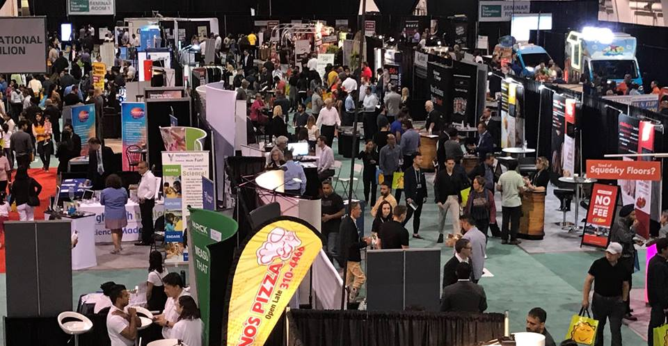 attending a franchise show