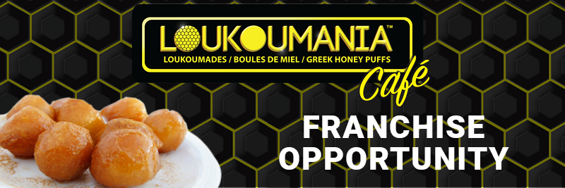 Loukoumania Greek Dessert Franchise Opportunities