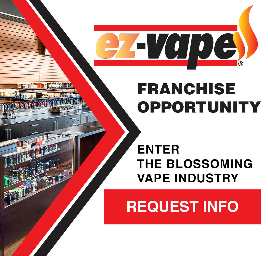EZ Vape Vaping Retail Franchise Opportunities