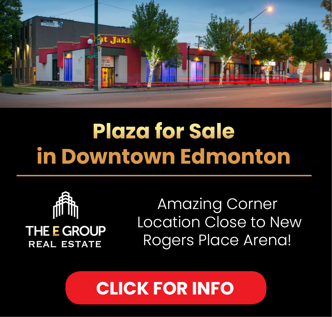 Plaza for Sale in Downtown Edmonton