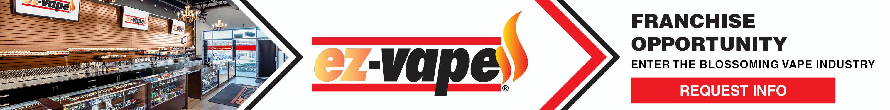 EZ Vape Vaping Retail Franchise Opportunities