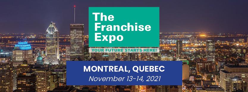 Montreal Franchise Expo November 2021