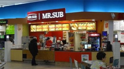MR. SUB FOR SALE IN MALL (SUDBURY)