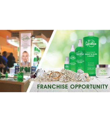 Sparklean Jewelry Cleaning Kiosk Franchise Opportunity