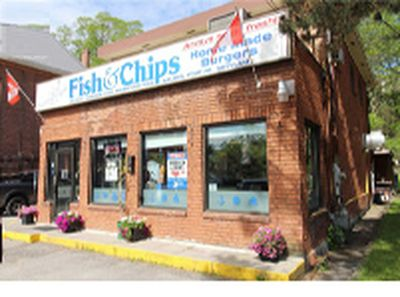 ESTABLISHED FISH & CHIPS RESTAURANT FOR SALE IN PORT HOPE