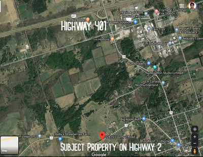 67 Acre Commercial Land for Sale Near Cobourg