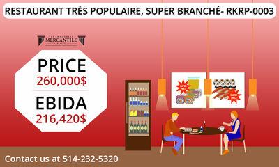 Very Popular Restaurant, Super Trendy- RKRP-0003