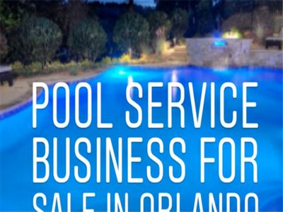Residential Pool Service Business for Sale in Orlando