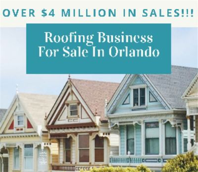 Roofing Business For Sale in Orlando