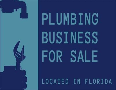 Established Plumbing Business For Sale in Tampa Florida