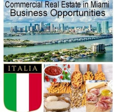 Italian Food Products - Import and Distribution for Sale in Miami