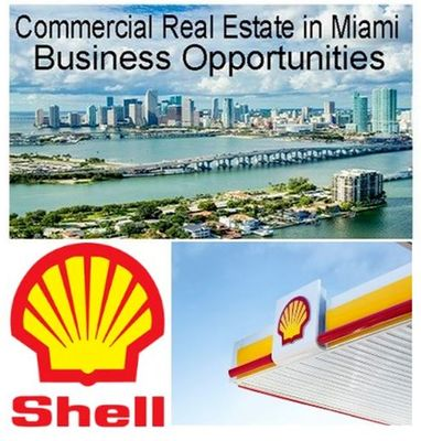Gas Station with Real State for Sale in Miami
