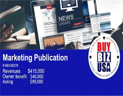 Famous Marketing Publication Business for Sale in Hillsborough County