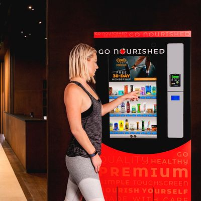 Go Nourished Innovative & Heathly Vending Machine Opportunity