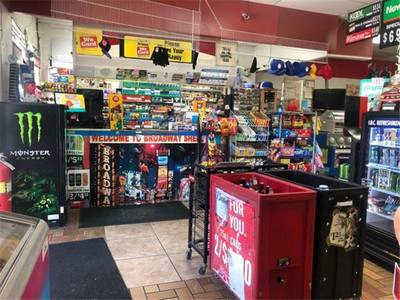 Gas Station, C Store, Cafeteria & Property In North Orlando