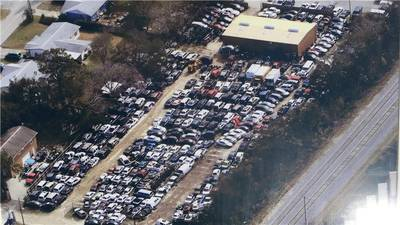 Auto Salvage Yard & Auto Parts Warehouse for Sale in Holly Hill