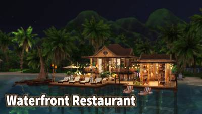Waterfront Restaurant, Land, Building & Business for Sale
