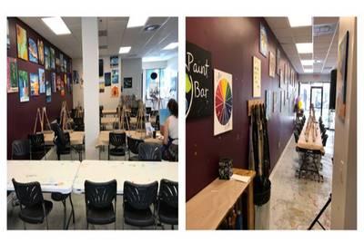 Paint Studio for Sale at Boca Raton