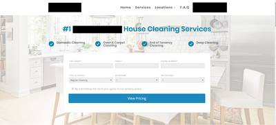 Fantastic Online Automated Domestic Cleaning Business