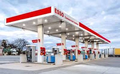 ESSO GAS STATION WITH CARD LOCK AND TRUCK STOP FOR SALE