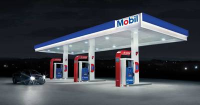 mobil gas station with rental income Windsor