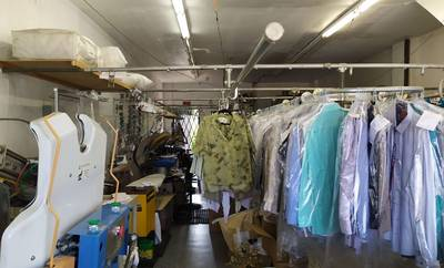 Toronto Busy Street Dry Cleaning Plant For sale