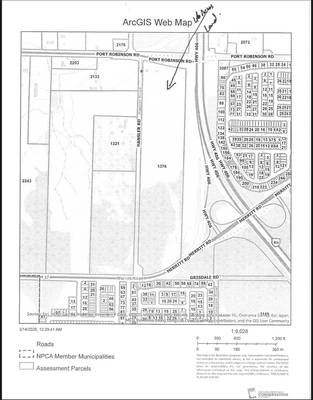 46 Acres Commercial & Industrial Land for Sale in Niagara Falls