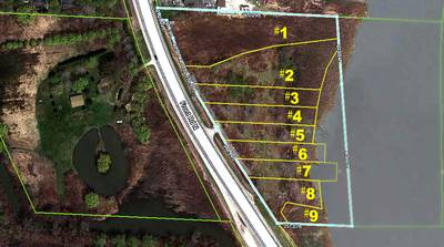 9 WATERFRONT LOTS FOR SALE IN WINDSOR