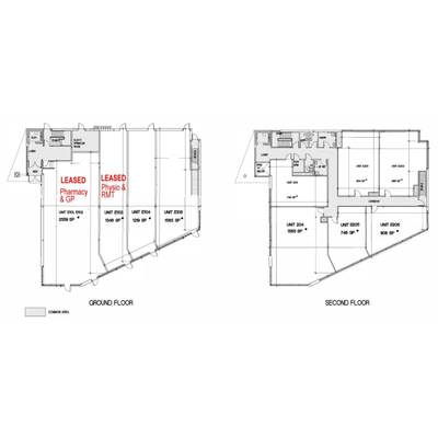 Medical / Office Unit for Lease in Medical Building with Pharmacy - Albion/ Finch