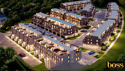 Boss Luxury Town Homes at Richmond Hill