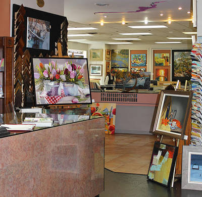 Renowned Retail Art Gallery for Sale