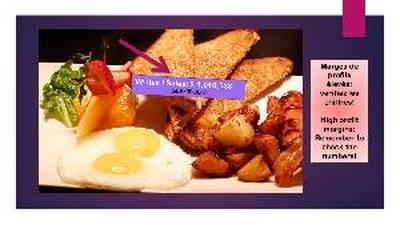 (RKRP-0002)A136864 - PRIX REDUIT! Restaurant Franchise Déjeuner-Breakfast Franchise
