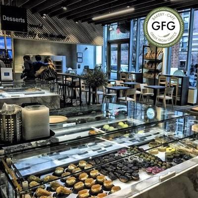 GFG Bakery Cafe Cuisine Greek Cafe & Restaurant Franchise Opportunity