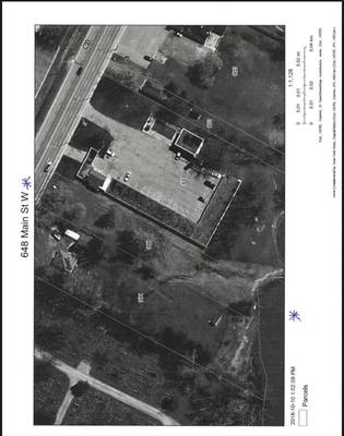 COMMERCIAL WATER FRONTING VACANT LAND