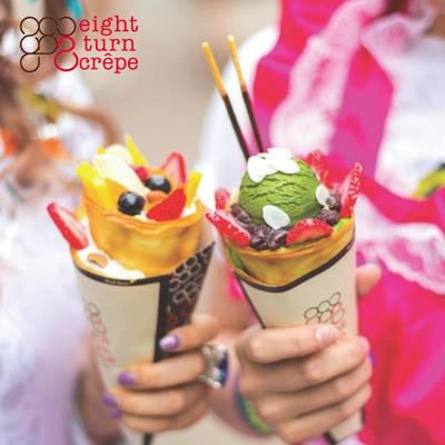Eight Turn Crepe Japanese Dessert Franchise Opportunity
