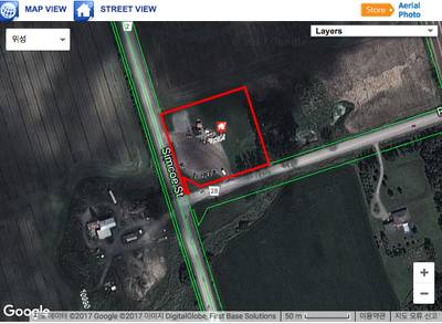 Corner commercial Land for Sale