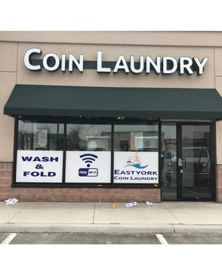 EAST YORK COIN LAUNDROMAT FOR SALE