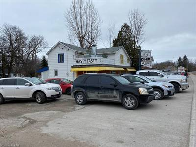 Land, Building & Diner for Sale in Orillia