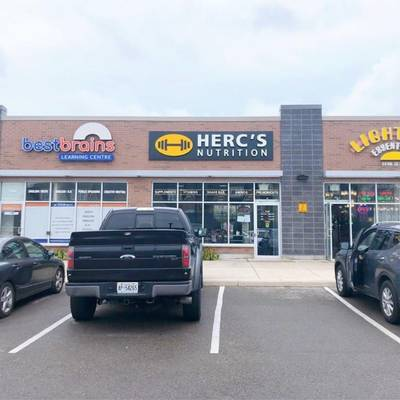Herc's Nutrition Health Food & Supplement Franchise for Sale in Ajax