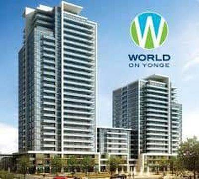 WORLD ON YONGE COMMERCIAL UNIT FOR LEASE
