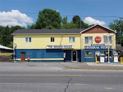 Gas Station with convenience store plus apartment for Sale - South Glengarry