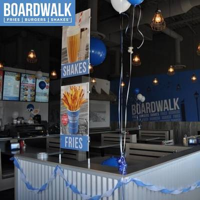 NEW Burlington Boardwalk Fries Burgers and Shakes