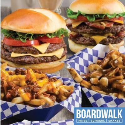 NEW Oakville Boardwalk Fries Burgers and Shakes