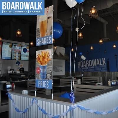 NEW Oshawa Boardwalk Fries Burgers and Shakes