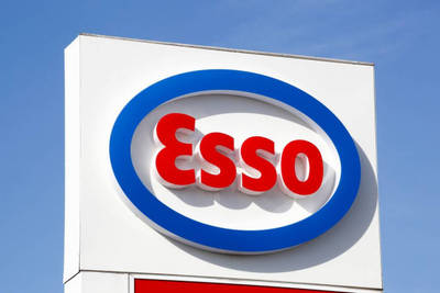 ESSO GAS STATION FOR SALE--