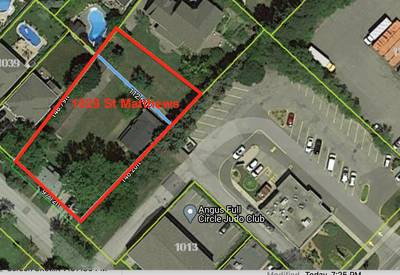 Prime piece of property potential for Townhouse (8-10 Homes) in Burlington