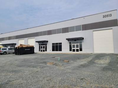 High Exposure Industrial Warehouse Space for Lease in Abbotsford, BC
