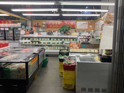 Mixed Use Frozen Food Grocery Store for Sale in Richmond, BC
