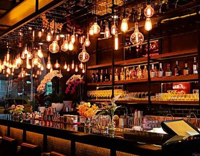 Small Seating Tapas Wine Bar for Sale or Lease in Richmond, BC